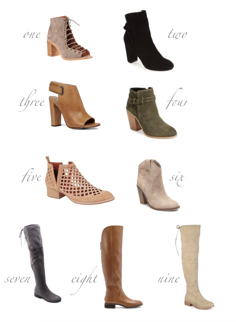 Favorite Fall Boots Under $200
