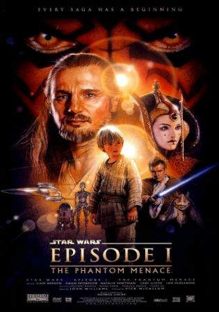 Star Wars The Phantom Menace 1999 BluRay Hindi 400MB Dual Audio 480p Watch Online Full Movie Download bolly4u