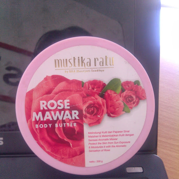 Review: Mustika Ratu Rose Mawar Body Butter