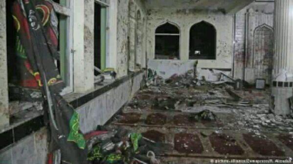 داعش المجرمة تفجر مساجد الله؟