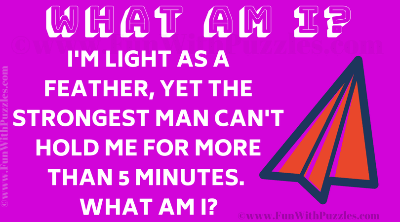 Tricky Riddle Brain Teaser Fun With Puzzles
