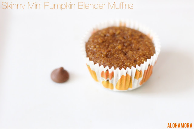 Skinny Mini Pumpkin Blender Muffins. Super easy to make in your blender. Gluten Free, Dairy Free, Nut Free, processed sugar free, and oh so delicious.  Mini Muffins are fun for breakfast, snack, kid friendly and healthy. Homemade. From Scratch. Simple. Easy Baking recipe. Alohamora Open a Book alohamoraopenabook http://alohamoraopenabook.blogspot.com/