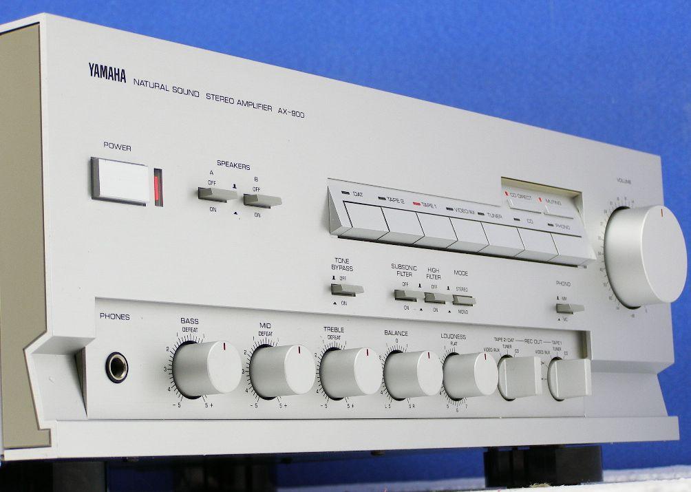 Yamaha Bax B on Bose Stereo Amplifier