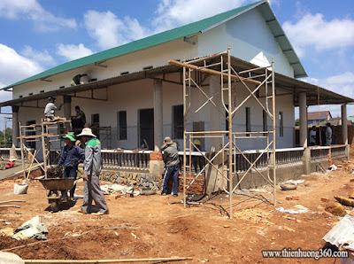 Tấm lòng nhân ái: xây dựng phòng khám chữa bệnh từ thiện