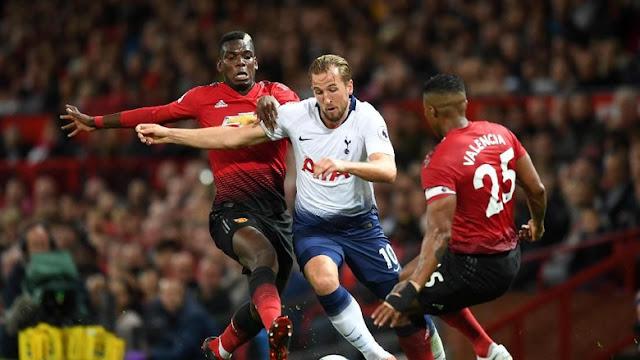 Hasil Liga Inggris: Tottenham Hajar MU 3-0 di Old Trafford