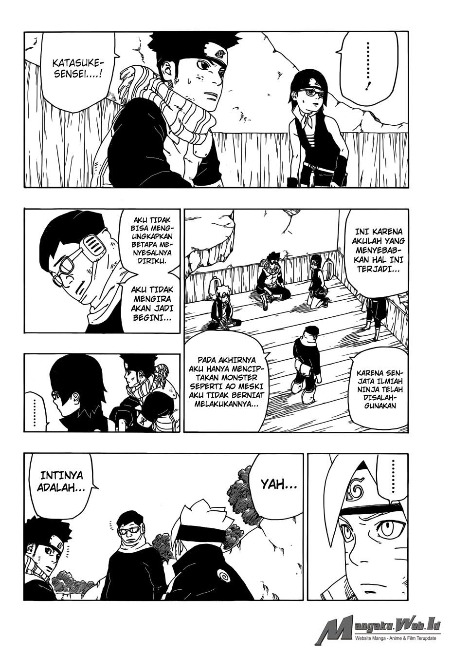 Baca Manga Boruto Chapter 20 Bahasa Indonesia