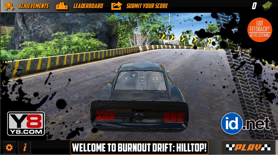 Burnout Drift Hilltop