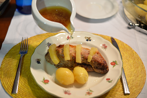 Pork Loin Roast with Pineapple