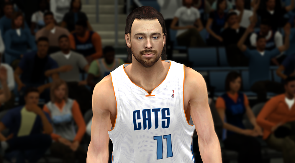 Josh McRoberts with Long Hair | NBA 2K14