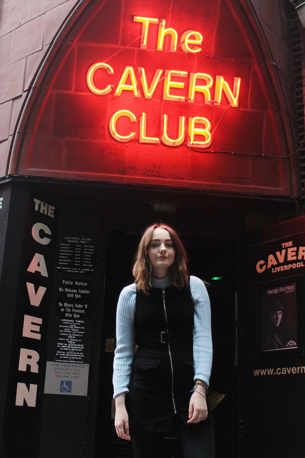 60s mod style at the cavern Liverpool