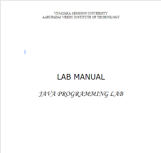 avit resources java programming lab manual 5th sem rh avitresources blogspot com java lab manual for bca java lab manual pdf