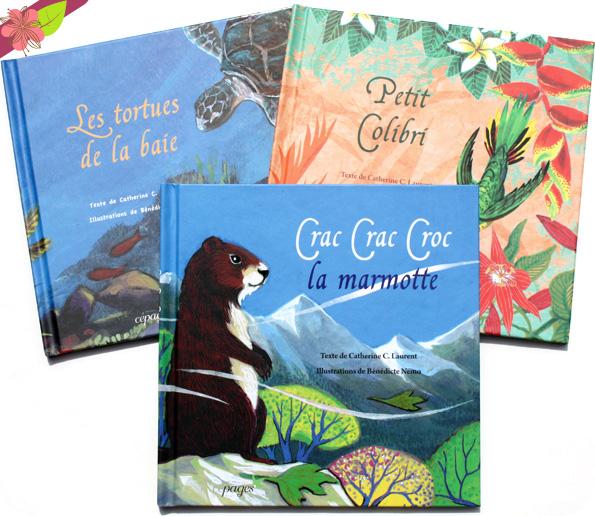 Crac Crac Croc la marmotte de Catherine C. Laurent et Bénédicte Nemo - éditions Cépages