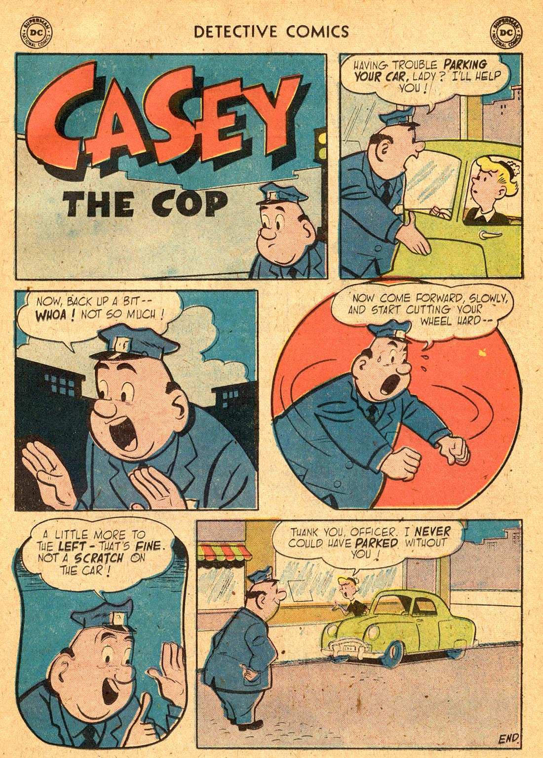 Read online Detective Comics (1937) comic -  Issue #255 - 25