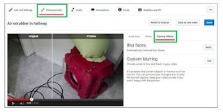 Cara blur video di YouTube