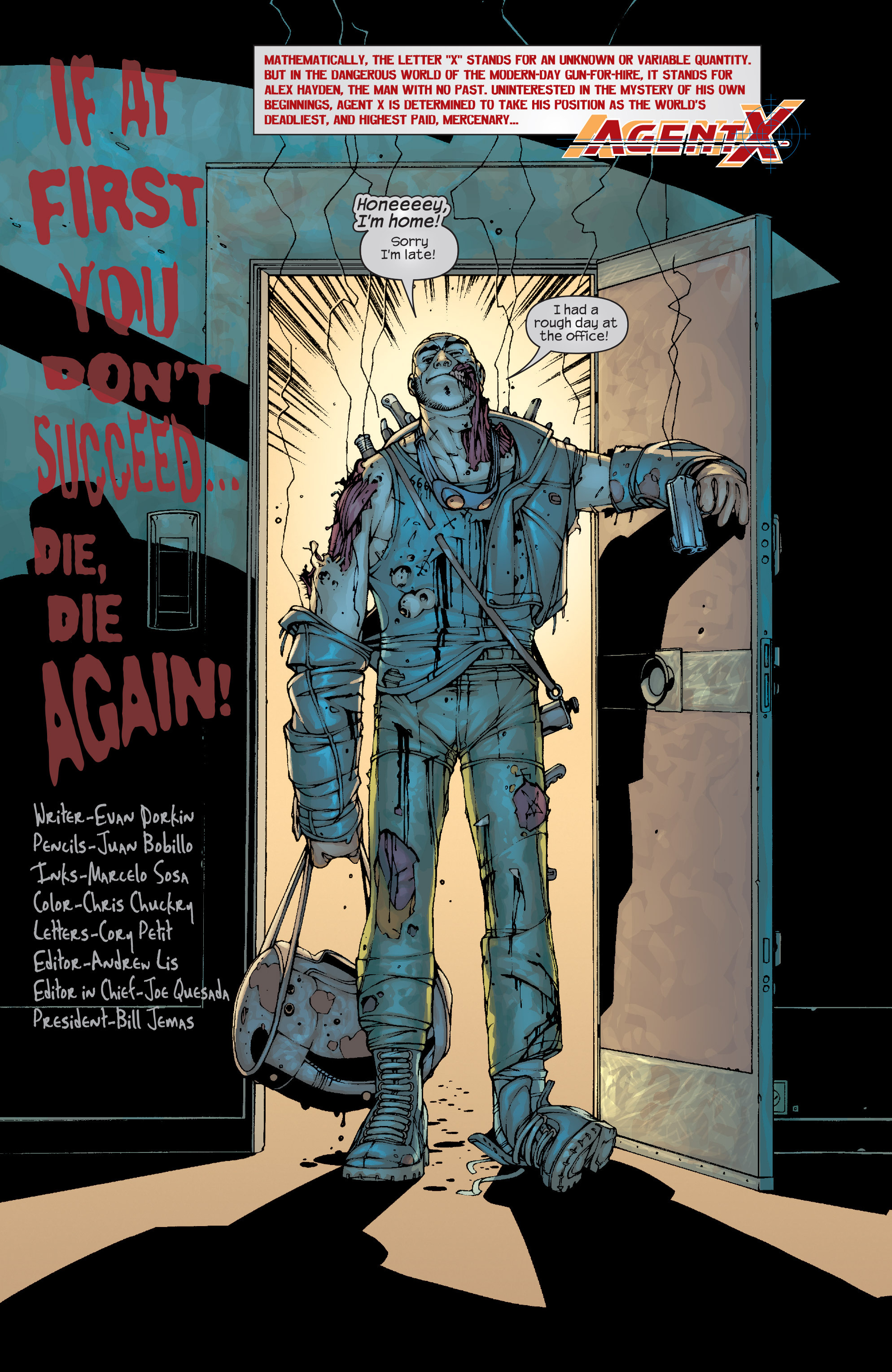 Read online Agent X comic -  Issue #10 - 3