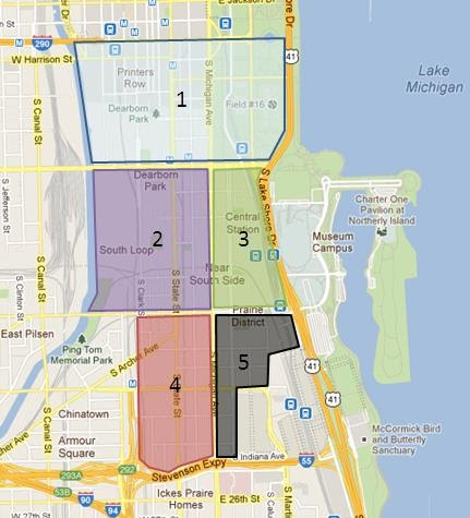 Chicago Parking Zone Map Sloopin   A South Loop Blog: New Residential Parking Zones Coming