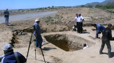 Saka princess tomb found in Kazakhstan