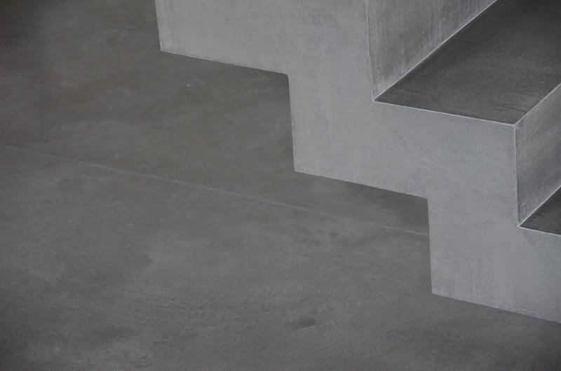 beton cire oberfl chen in beton look beton falttreppe betontreppe beton cire treppe. Black Bedroom Furniture Sets. Home Design Ideas