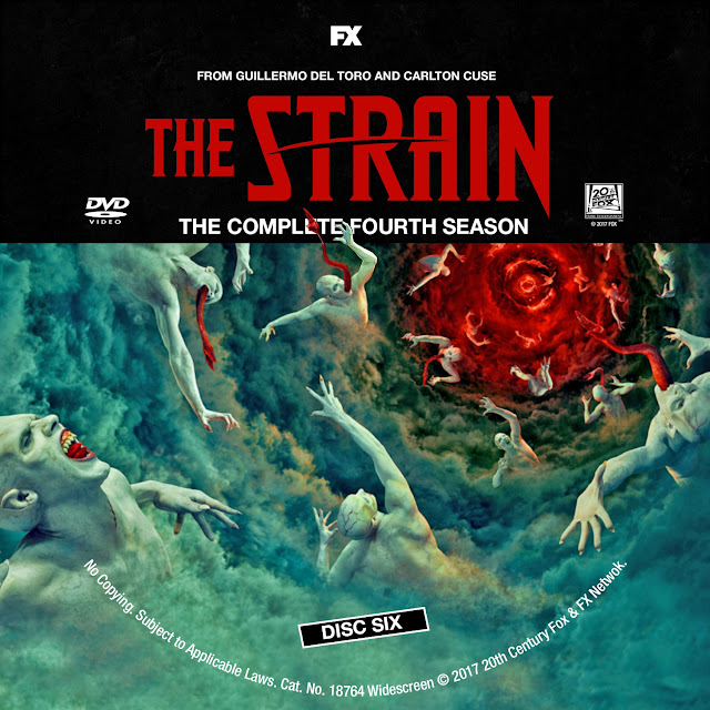 The Strain Season 4 Disc 6 DVD Label