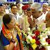 मुख्यमंत्री तीन दिवसीय यात्रा पर जोधपुर पहुंची ,एयरपोर्ट पर हुआ शानदार स्वागत