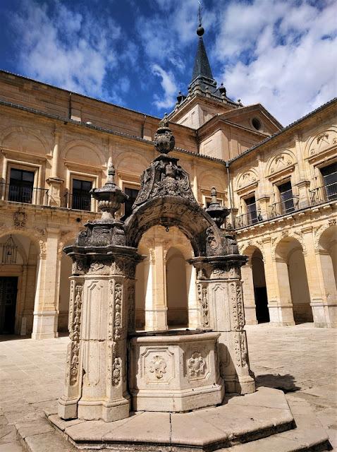 Monasterio de Uclés, pozo barrpcp