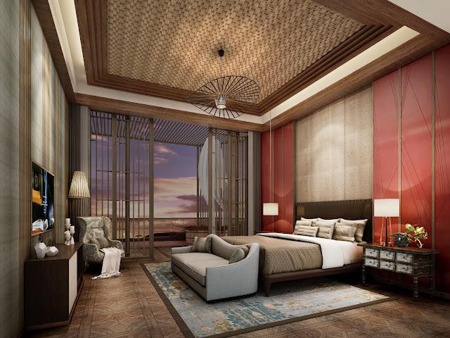 Phòng ngủ dự án căn hộ laluna resort nha trang