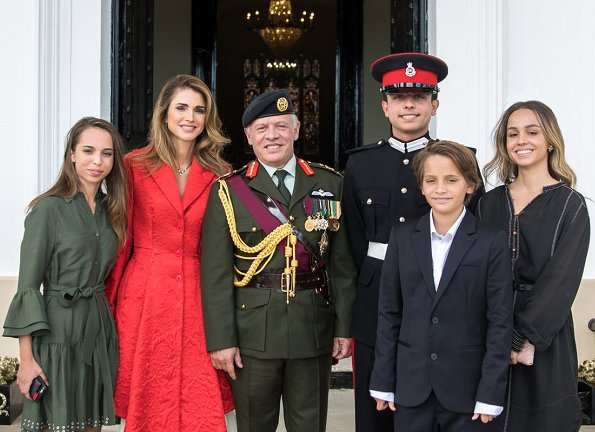 The Royals attend the Sovereign's Parade at Sandhurst
