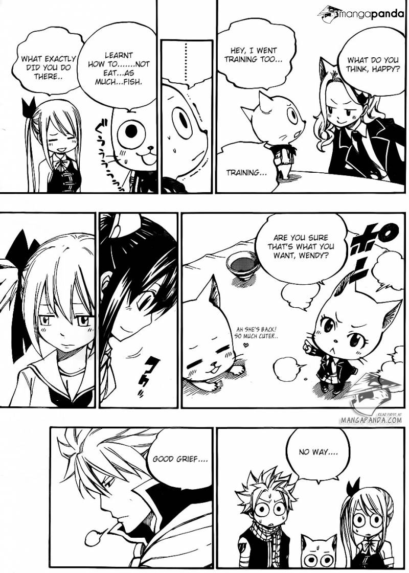 Fairy Tail Ch 421: Wendy and Chelia