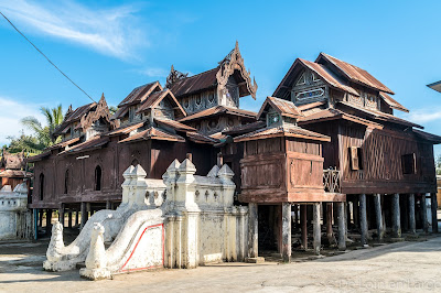 Monastère Shwe Yan Pyay - Nyaung Shwe