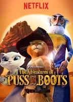 Gato con Botas (5x  Poster