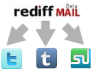 Add Social Network Icons Into Rediff Mail Signature
