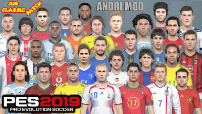 PES 2019 AIO Classic Patch 2019