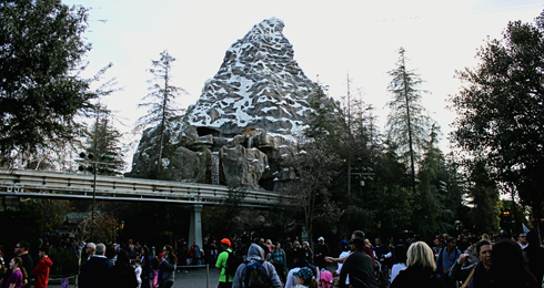 disneyland park california christmas