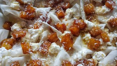 dolce di pasta fillo ananas ricotta