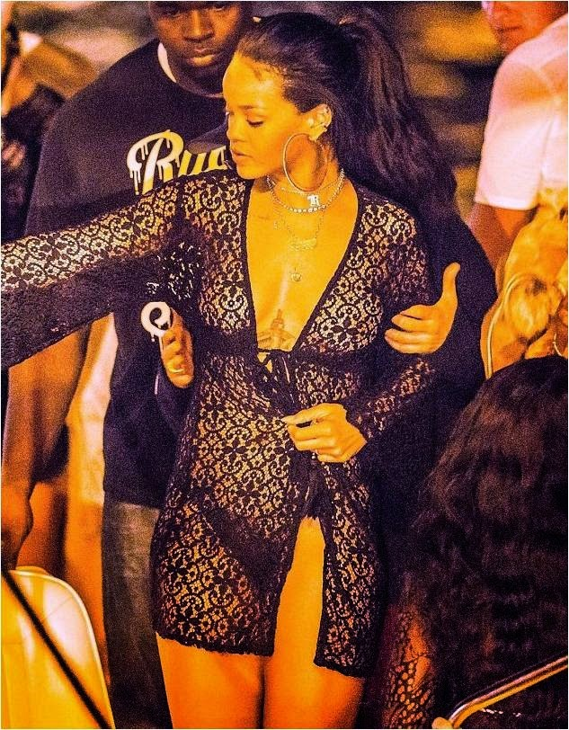 Rihanna in Lace Diva from PilyQ