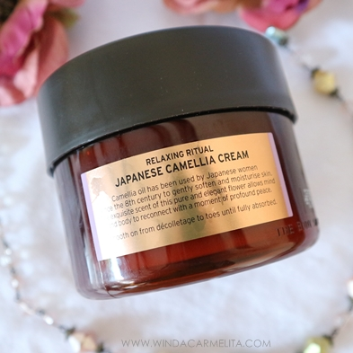 Japanese Camellia Cream The Body Shop