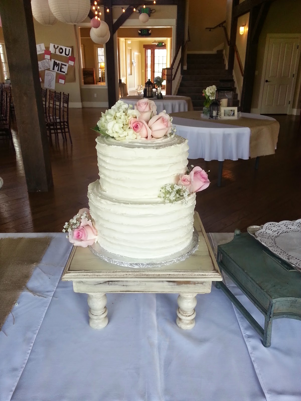 Sweet Bottom Cakes Textured Buttercream Wedding Cake