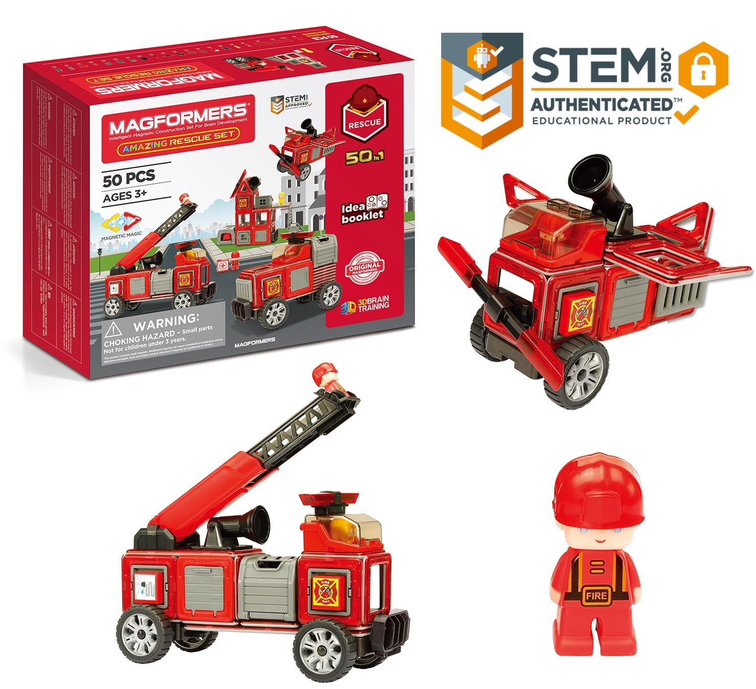 Magformers Amazing Rescue 50 Piece Set Giveaway Merry