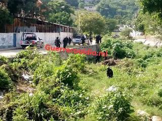 TRAS UNA PERSECUCIÓN Y BALACERA, ENTRE SUJETOS ARMADOS Y POLICIA ESTATAL EN LA COLONIA  SIMON BOLIVAR, EN LA PERIFERIA DE ACAPULCO