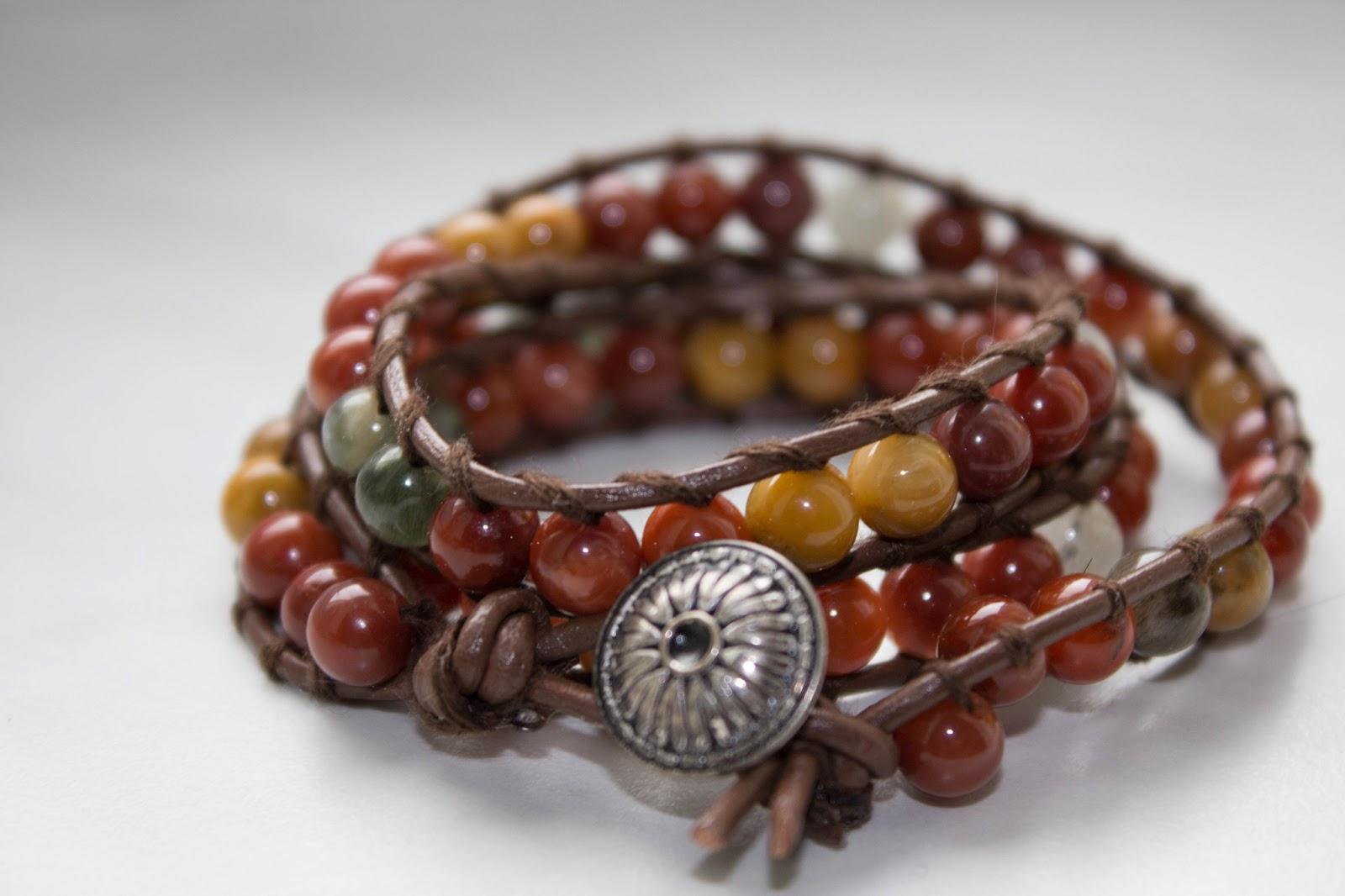Wrap Bracelet selber machen - DIY Schmuck