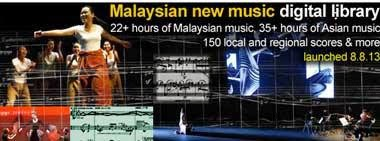 Visit the Malaysian composers digital library