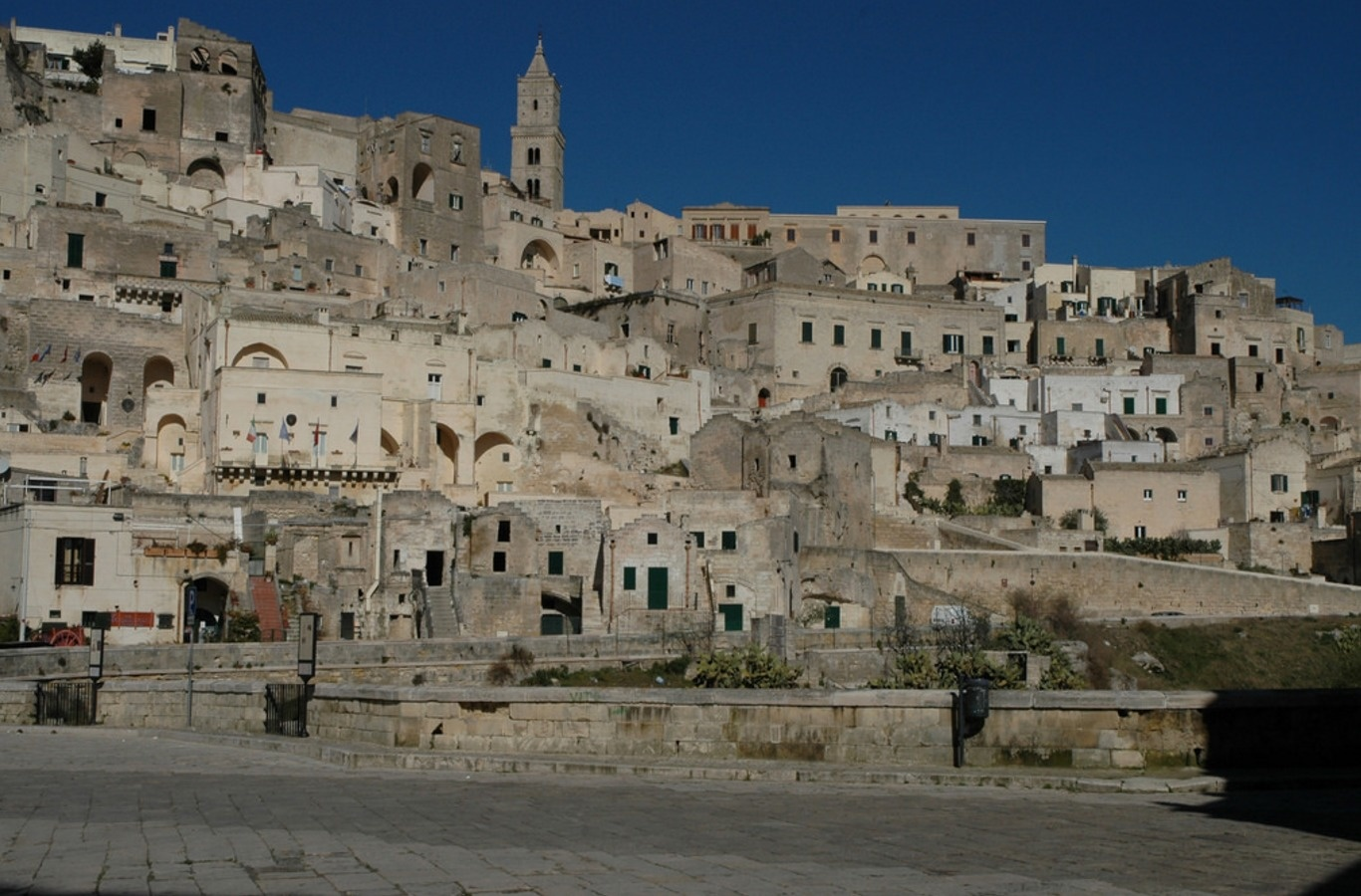 city of Sassi Di Matera is location of Hollywood films like The Passion of Christ