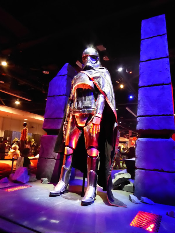 Star Wars Force Awakens Captain Phasma costume D23