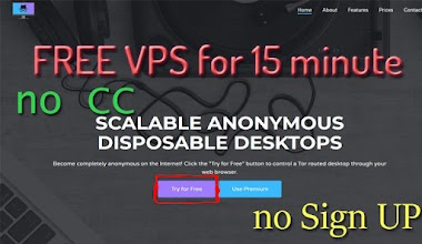 Yeni Bedava Browser VPS