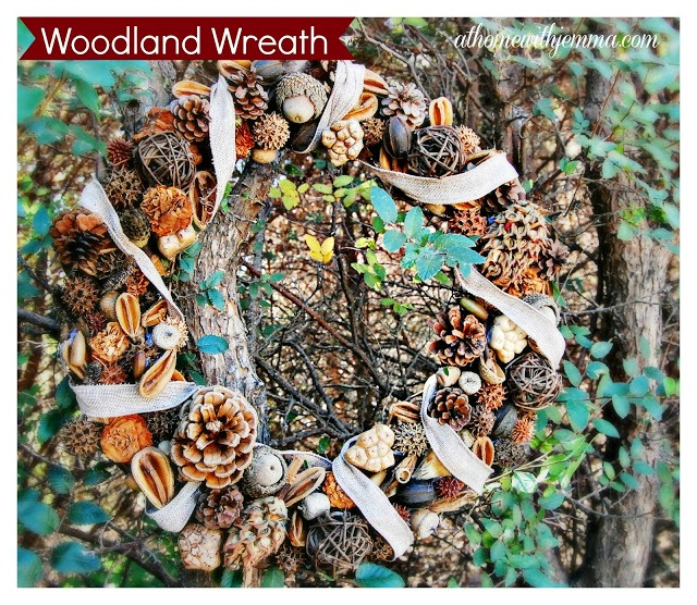 wreath-nuts-pine-cones-seeds-burlap-ribbon-acorn-