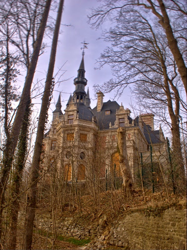 10 Best Places to Holiday in Belgium (100+ Photos) | Abandoned - Esneux, Liege