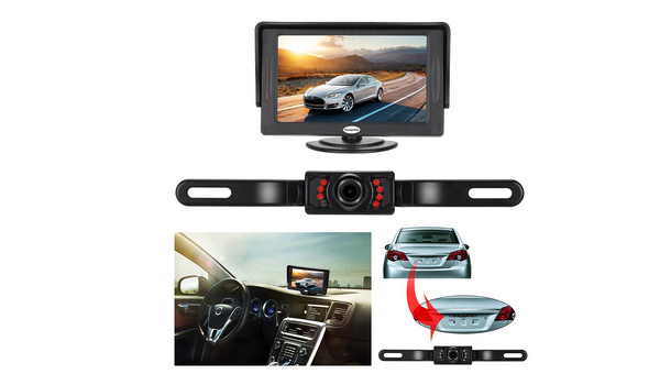 Backup Cameras On Amazon