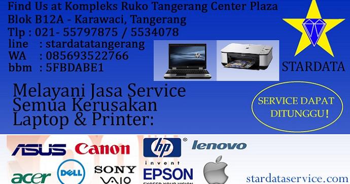 Stardata Service Laptop Printer Tangerang