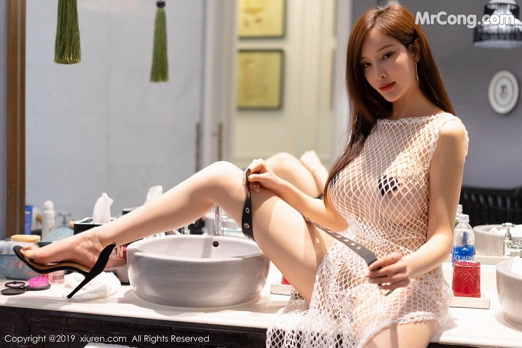 Image XIUREN-No.1407-Tu-Fei-Yuan-Ai-Cuo-Qiong-MrCong.com-008 in post XIUREN No.1407: 奶瓶土肥圆矮挫丑黑穷 (44 ảnh)