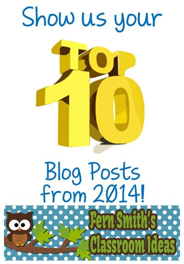 Fern Smith's Classroom Ideas Top Ten Posts for 2014!